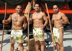 How Pacific Island Men should look.